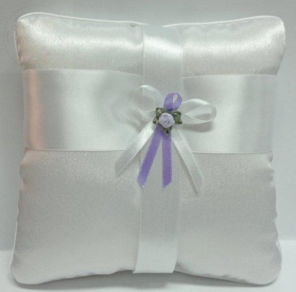 Butonierki, drużbówki biało-fioletowe 1szt