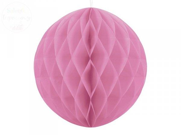 Kula bibułowa rózowy 40 cm