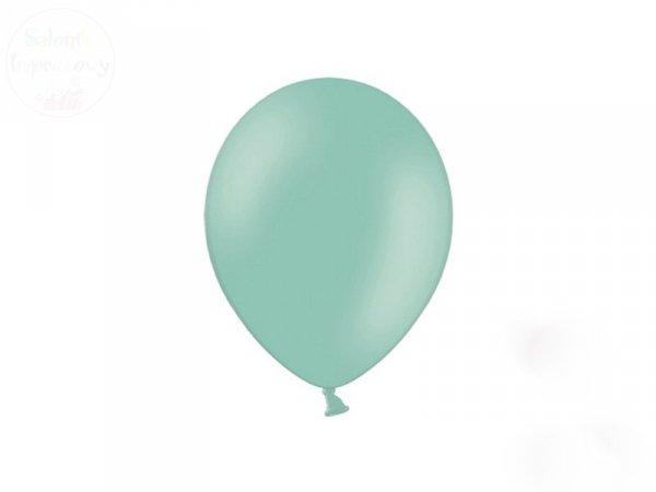Balony  10 cali w kolorze Miętowym