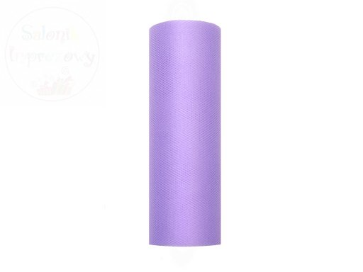 Tiul na szpulce 5cmx9m fioletowy TIU15-014
