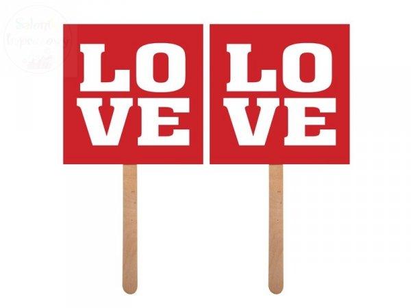 """Karteczki na patyczku  """"  Love / Love """""""