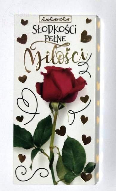 Czekolada Walentynkow Słodkości pełne miłości