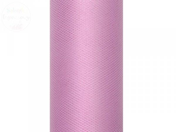 Tiul na szpulce 15 cm x 9 m pudrowy róż