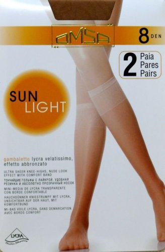 Podkolanówki Omsa| Sun Light 8 den A`2