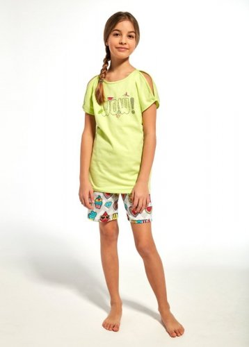Piżama Cornette Young Girl 242/61 Wow kr/r 134-164