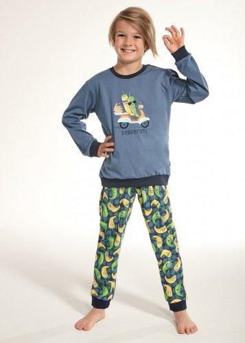 Piżama Cornette Kids Boy 593/91 Pepperoni dł/r 86-128