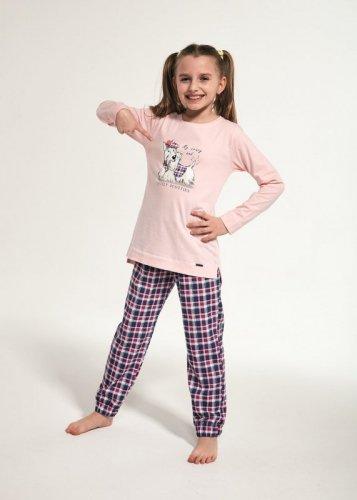 Piżama Cornette Kids Girl 780/113 Scottie dł/r 86-128