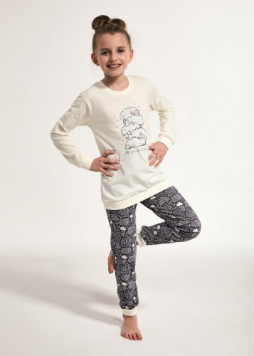 Piżama Cornette Young Girl 592/114 Sheep dł/r 134-164