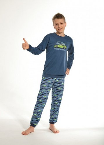 Piżama Cornette Kids Boy 593/93 No Limit dł/r 86-128