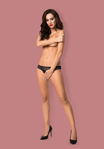 Stringi Obsessive Shibu Crotchless Thong