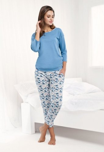 Piżama Luna 488 3/4 M-2XL damska