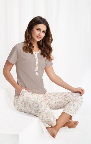 Piżama Luna 442 kr/r 3XL damska