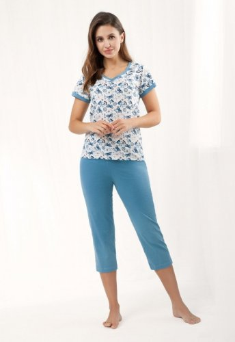 Piżama Luna 473 kr/r 4XL damska
