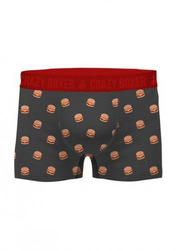 Bokserki Crazy Boxer Organic Cotton Burger A'2