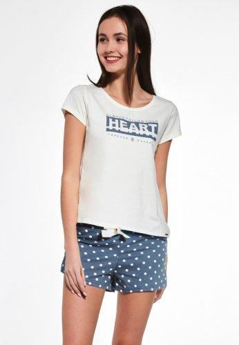 Piżama Cornette F&Y Girl 363/33 Heart kr/r 158-176