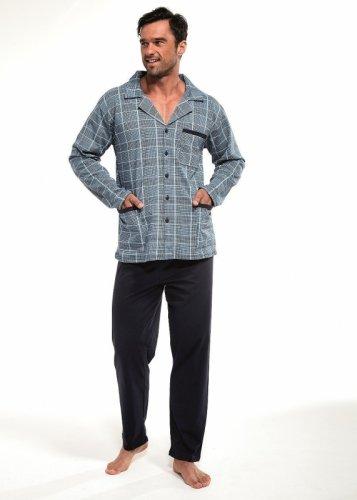Piżama Cornette 114/16 dł/r M-2XL Rozpinana