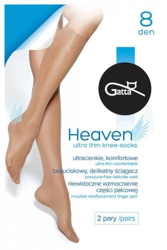 Podkolanówki Gatta Heaven 8 den