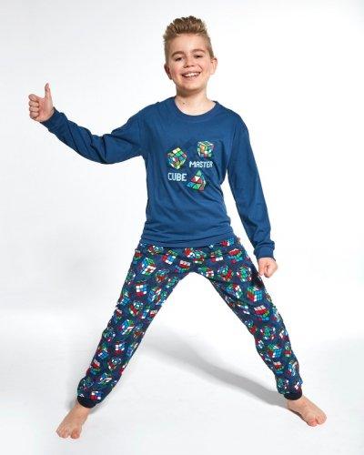 Piżama Cornette Kids Boy 593/102 Cube Master dł/r 86-128