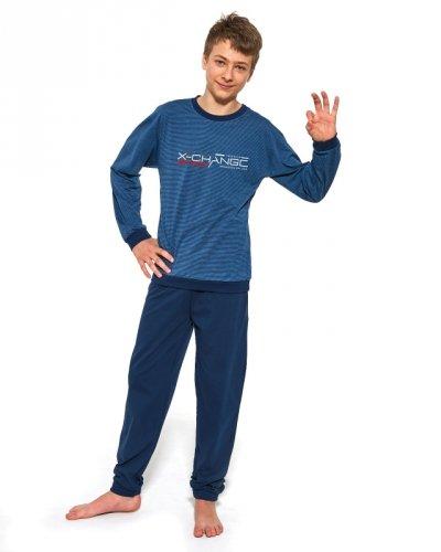 Piżama Cornette F&Y Boy 989/37 Street Wear dł/r 164-188