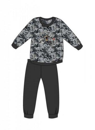 Piżama Cornette Young Boy 454/118 Air Force dł/r 134-164