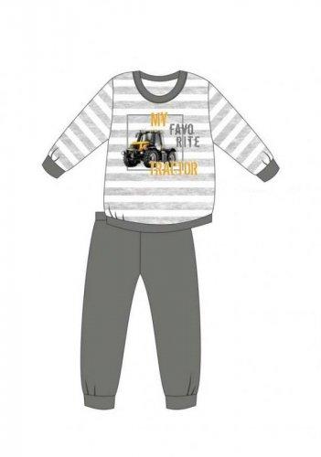 Piżama Cornette Kids Boy 478/114 Tractor dł/r 86-128