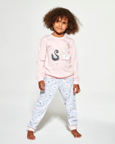 Piżama Cornette Young Girl 390/143 Swan 2 dł/r 134-164