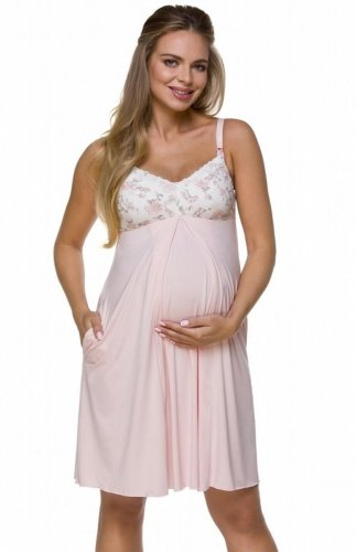 Koszula nocna ciążowa Lupoline 3122 K