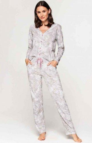 Piżama damska rozpinana Cana 580 2XL