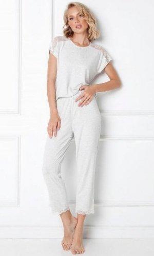 Piżama Aruelle Cathleen Long kr/r XS-2XL