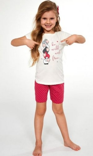 Piżama Cornette Kids Girl 787/82 Be Wild kr/r 86-128