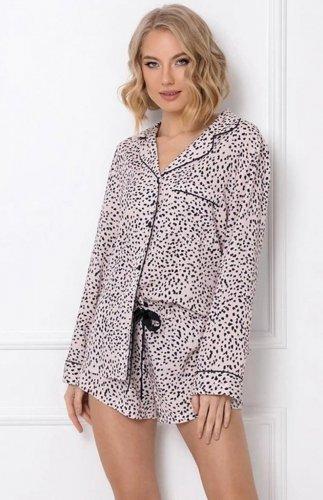 Rozpinana piżama z szortami Aruelle Bernadette