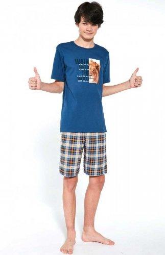 Piżama młodzieżowa Cornette F&Y Boy 551/35 Wild 170-182