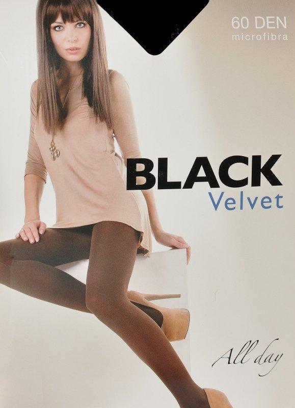 Rajstopy Egeo Black Velvet 60 den 5XL