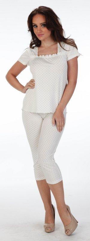 Piżama De Lafense Kropki 919