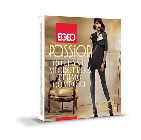 Rajstopy Egeo Passion Microfibra Termo Comfort 100 den 2-4