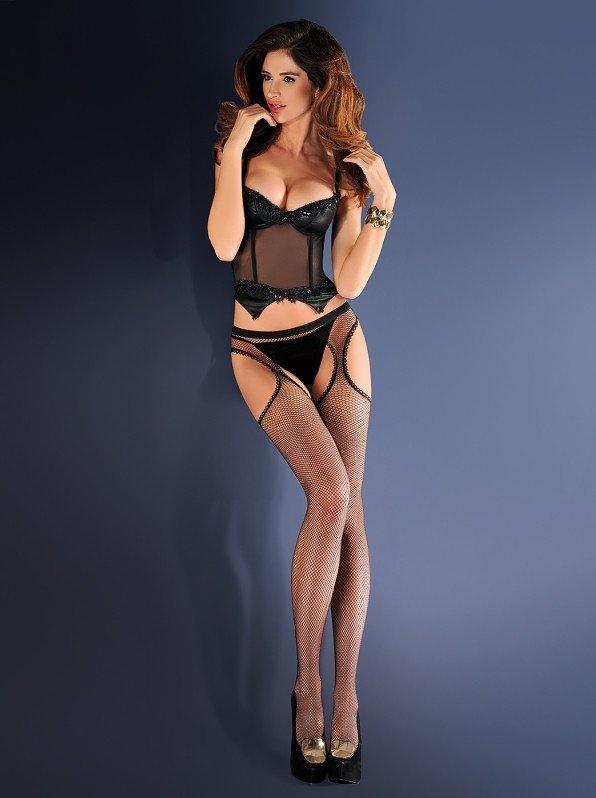 Rajstopy Gabriella Erotica Strip Panty 151 636