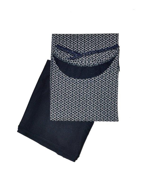 Piżama De Lafense 598 Rebecca kr/r
