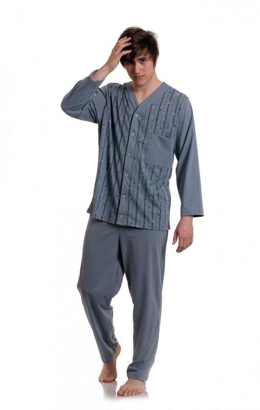Piżama Gucio rozpinana męska 298 dł/r 3XL
