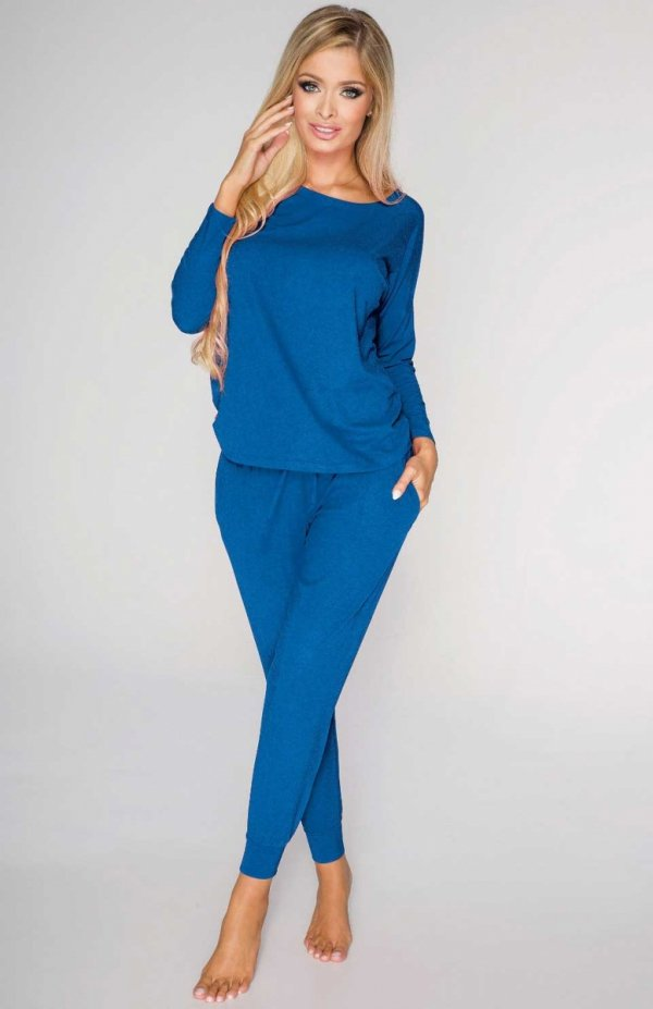 piżama damska de lafense 555 paula chabrowa