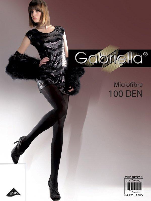 Rajstopy Gabriella Microfibre 124 100 den 5