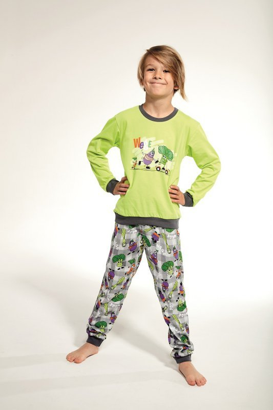Piżama Cornette Kids Boy 593/90 Wege dł/r 86-128
