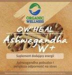 Ashwagandha, 60 kapsułek, Organic Wellness