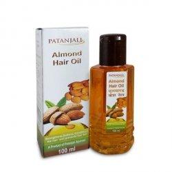 Olej migdałowy do włosów - Patanjali 100ml