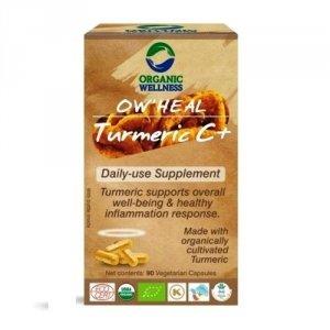 Turmeric (kurkuma), 90 kapsułek, Organic Wellness