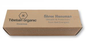 Organiczne kadzidła sznurkowe Shree Hanuman (pomyślność i ochrona)