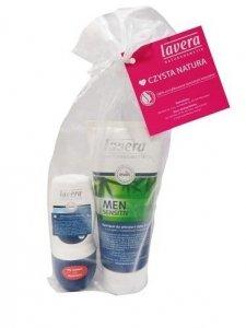 Zestaw prezentowy dla mężczyzn, szampon 3w1 i dezodorant roll-on, Lavera