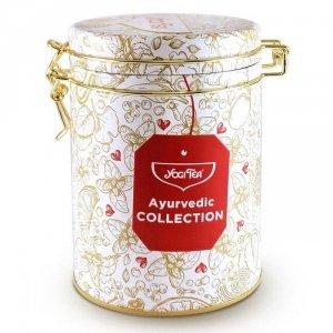 Kolekcja herbat ajurwedyjskich w puszce, Yogi Tea zestaw Ayurvedic Collection