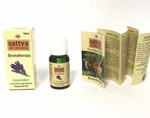 Lawendowy olejek eteryczny Sattva 10ml