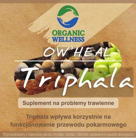 Triphala, 60 kapsułek, Organic Wellness