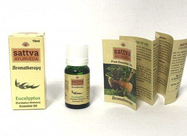 Eukaliptusowy olejek eteryczny Sattva 10ml